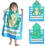 APERIL Toalla Poncho Niños Encapuchado Playa Bañera Toalla Bañera Ducha Nadar Piscina para Niñas Niños Infantiles Toallas de