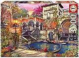 Educa 16320 - Puzzle 3000 Pezzi, Tematica Storia D'Amore a Venezia