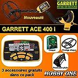 Détecteur de métaux Garrett ACE 400i avec 3 accessoires