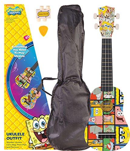 Spongebob Schwammkopf Ukulelen-Set (Ein Spongebob Kostenlos)