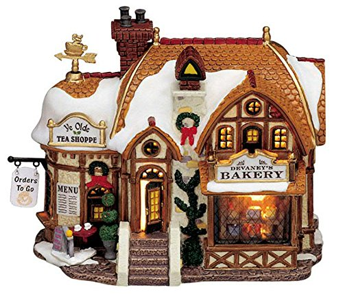 Lemax Devaney\'s Bakery - 18,9cmx14,3cmx10,7cm - Beleuchtete Bäckerei - LED - Porzellan