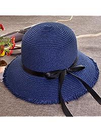Axiba Visera de Sol Playa Verano Flash Arco Dama Sombrero Sombrero Grande a  lo Largo de a3dffc1d280