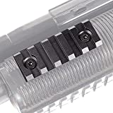 5 Slot Keymod Rail Section Picatinny Rail for Key Mod Handguard Mount Rail Sytstem, 2 Inch in Length