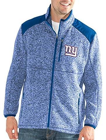 """New York Giants NFL G-III """"Back Country"""" Full Zip Men"""
