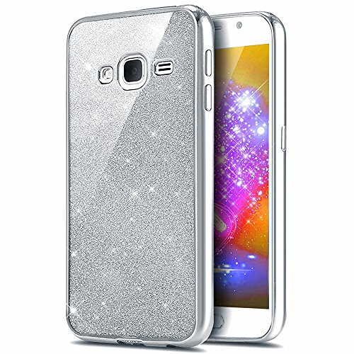 Galaxy A7 2016 Coque, Galaxy A7 2016 Coque de protection en silicone, saincat Bling Brillant strass Coque Étui Housse en silicone Protective Etui transparent TPU Gel CASE Bumper souple Crystal kirstall Clear Ultra Mince étui en silicone transparent Housse ceinture Housse à rabat couverture de cas etui coque TPU Bumper pour Samsung Galaxy A7 2016