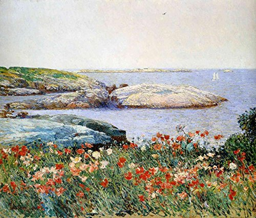 Die Museum Outlet-Mohn, Inseln der Scheren, 1891-Poster (mittel)
