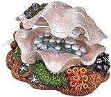 Nobby 28076 Aquarium Dekoration Aqua Ornaments MUSCHEL ; L17,5 x B13 x H10 cm