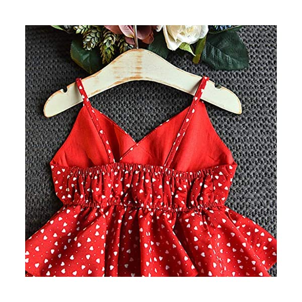 JYC 2019 Baby Girl Dresses | Toddler Kids Clothes Sleeveless Love Printing Party Princess Dress (Red120/13) JYC - Baby Clothes Recommended Age:2-3 Years Label Size:7/90 Bust:52cm/20.47'' Length:53cm/20.87'' Height:85-90cm Recommended Age:3-4 Years Label Size:9/100 Bust:54cm/21.26'' Length:55cm/21.65'' Height:95-100cm Recommended Age:4-5 Years Label Size:11/110 Bust:56cm/22.05'' Length:58cm/22.83'' Height:105-110cm 7
