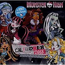 Calendrier Monster High 2013