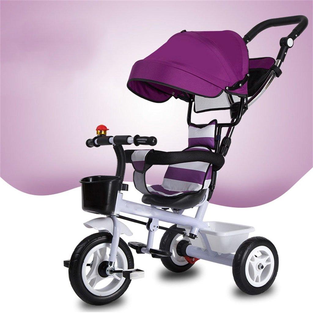 Qiangzi Nuovo Triciclo del bambino di 3 ruote di Bicicletta 3 ruote girevoli ruota / gomma piuma di