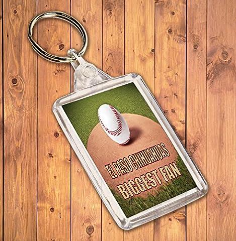 El Paso Chihuahuas Plus Grand Fan de baseball–Porte-clé–Cadeau d'anniversaire/cadeau