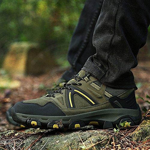Ben Sports Chaussures de Randonnée Running Trail Sports Femme Homme E-Vert