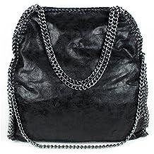 Suchergebnis auf für: schwarze tasche mit kettenhenkel