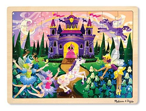 Melissa & Doug Puzzlespiel aus Holz - Märchenfee