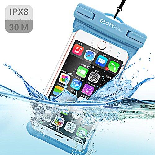 Glorybag - Premium wasserfeste Handyhülle - mit Touch ID Fingerprint - hochwertiges Handycase für Extreme Bedingungen - optimale Schutzhülle zum praktischen Outdoor-Einsatz für alle Smartphones -