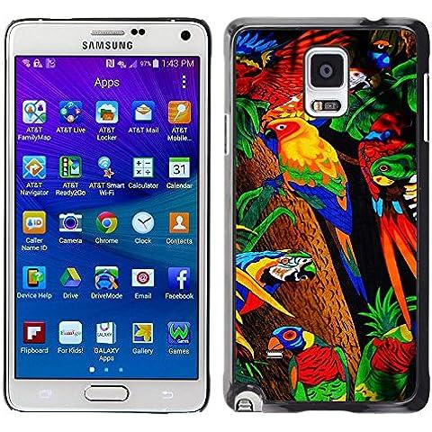 Carcasa Funda Case // M00149280 Tovagliolo di bagno del tovagliolo // Samsung Galaxy Note 4 IV