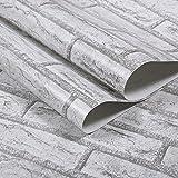Türign Upgrate Moderne Einfachheit Europäische PVC Tapete,Prägung MusterTapete,0.45 * 10m Dekoration Fernsehhintergrund/Schlafzimmer/Sofahintergrund/Hotel
