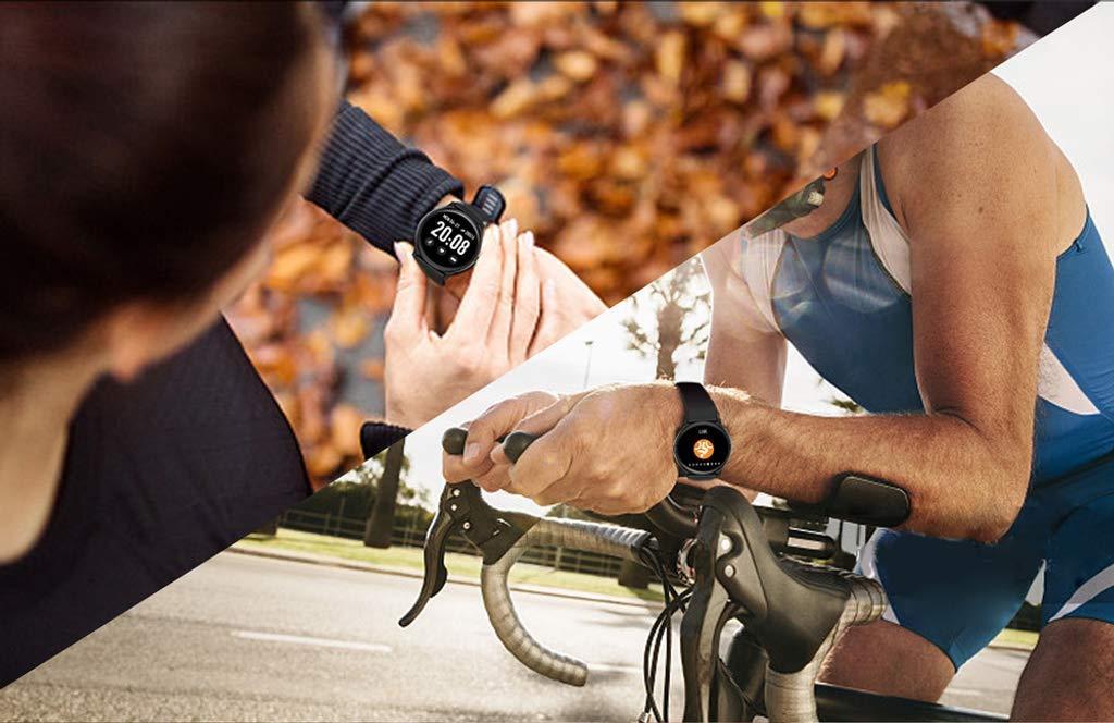 Naack Reloj Inteligente Pulsera Monitor de frecuencia cardíaca smartwatch Monitor De Ritmo Cardíaco Mujeres Hombres… 7