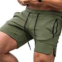 COOFANDY Men's Gym Workout Shorts Lightweight Athletic Exercise Fitness Bodybuilding Sports Shorts with Zip Pockets