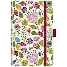 """Premium Timer Small """"Spring Flowers"""" 2018: Buchkalender - Terminplaner mit hochwertiger Folienveredelung und Prägung. 9 x 14 cm"""