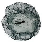 SODIAL(R)Kaefig Fischerschollenfilet Ersatzkorb Fische Garnelen Hummer Netz - 6 Loecher