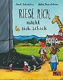 Riese Rick macht sich schick: Vierfarbiges Pappbilderbuch Bild
