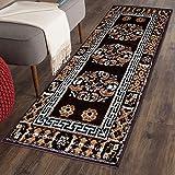 #1: The Home Talk Traditional design bedside runner/ rug/ passage rug, 50 x 150 CM, Vascose, soft- Brown