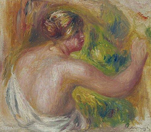 le-musee-de-sortie-nude-drapage-1915-a3-poster