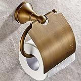 X&D WC-Rollenhalter Gute Qualität Antike Messing 1 Stück - Hotelbad