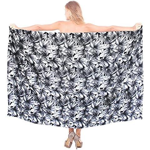 costume da bagno beachwear bikini gonna costumi da bagno avvolgente sarong delle donne del cotone (2 Piece Costume D'epoca)