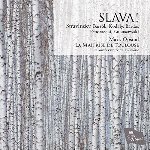 Slava:Choral Music By Stravins [Import USA]