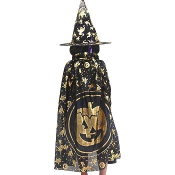 Costumi di Halloween strega guidata mantello con cappello per ... a4594d7a4469