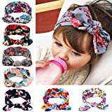 Itaar Baby's Headband Hair Bands Set with Cute Rabbit Ear - 7PCS