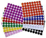 Bunte Farbcodierung Etiketten 17mm runde Punkt Aufkleber – in verschiedenen Farben Größe 1,7cm Durchmesser Klebepunkte 960 Vorteilspack von Royal Green
