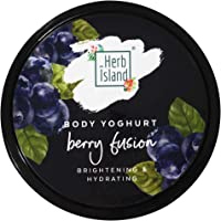 Herb Island Berry Fusion Body Yoghurt & Mineral Oil, Silicones & Parabens Free;150gm