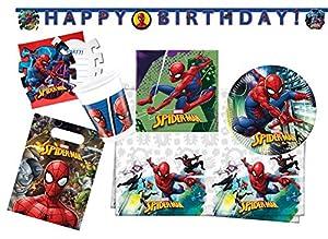 Procos 10118256Party Set Spiderman Team Up