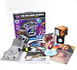 LVPY Experimentierkasten, 26-teilig optische Täuschung Experiment Physik Lernspielzeug Kit Lernspielzeug für Jungen und Mädchen ab 8 Jahre