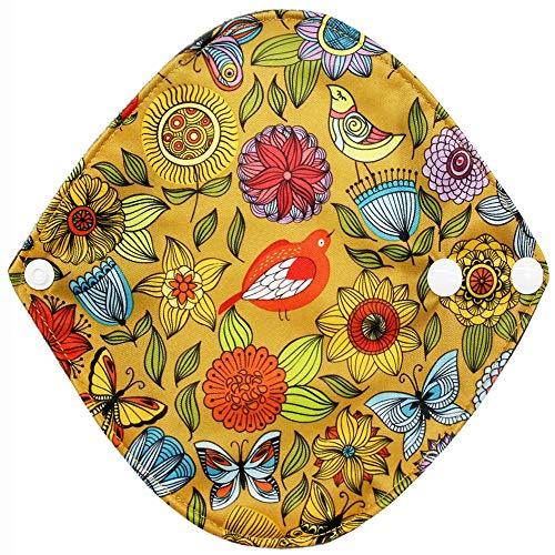 erthome Tragbare Mode neue wiederverwendbare Bambus Tuch waschbar Menstruation Pad Mama Damenbinde Pad -