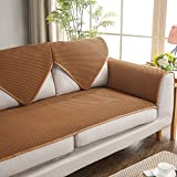 lovecover Sofa-Möbelschutz für Haustiere, für alle Jahreszeiten, atmungsaktiv, U-Form, waschbar, Baumwolle, Sofa-Überwurf, 1 Stück