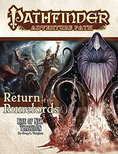 Pathfinder Adventure Path: Rise of New Thassilon (Return of the Runelords 6 of 6) por Greg A. Vaughan