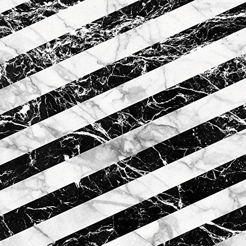 Apple iPhone 5 Housse Outdoor Étui militaire Coque Bandes Noir et blanc Étui en cuir marron