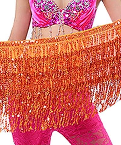Halloween Costumes De Bollywood Halloween Costume - YiJee Femme Danse du Ventre Accessoires Sequins