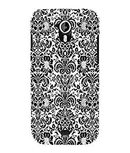 Fuson 3D Printed Pattern Designer Back Case Cover for Micromax Canvas HD A116 - D1020