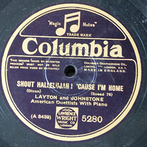78rpm-layton-johnstone-shout-hallelujah-cause-im-home-glad-rag-doll