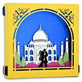 #10: Yolopop Gifts for Girlfriend / Boyfriend | Handmade Pop Up Box 3D Greeting Card | Taj Mahal - Symbol of Eternal Love