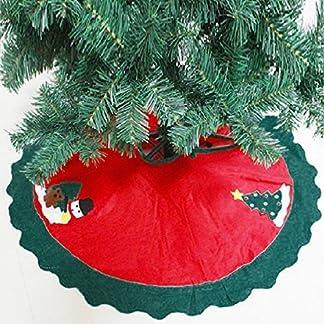 Mbuynow 90cm 35″ Falda del Árbol de Navidad/Delantal de Decoracióndel Árbol de Navidad para Fiesta de Navidad – para Decorar la Fiesta de Navidad Hermoso e Interesante