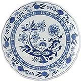 Hutschenreuther 02001-720002-10225 - Piatto da tavola, motivo: cipolle, 25 cm, blu