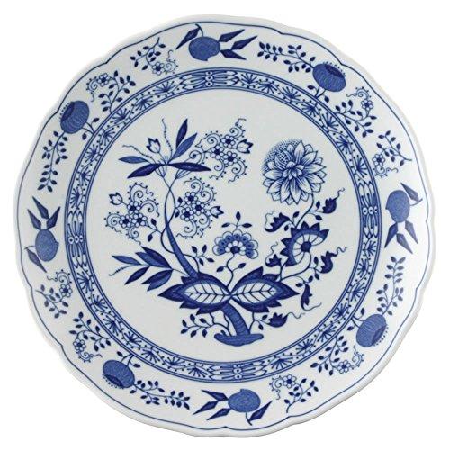 Hutschenreuther 02001-720002-10225 Zwiebelmuster Speiseteller, 25 cm Coup/Grillteller, blau - Bavaria Fine China