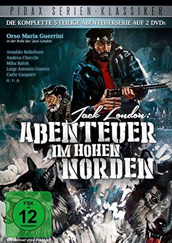 Jack London: Abenteuer im hohen Norden - Die komplette Serie (2 DVDs)