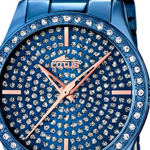 491557c36381 ... Lotus Reloj Analógico para Mujer de Cuarzo con Correa en Acero  Inoxidable 18254 1